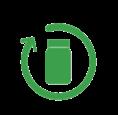 Icon CONCEVOIR DES PRODUITS APTES AU RECYCLAGE